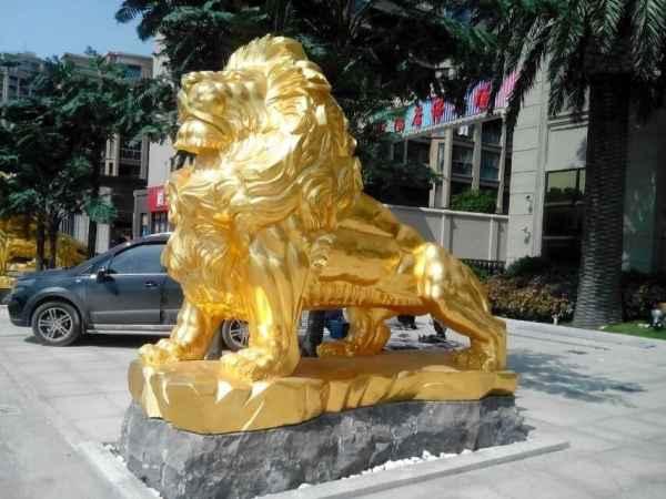 铜狮子摆件价格