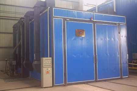 重庆机械回收式喷砂房价格