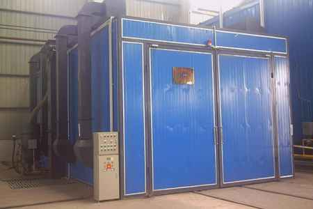 重庆机械回收式喷砂房供应商