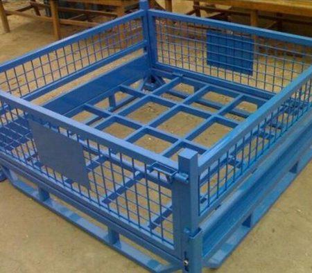 钢制料箱网式料箱