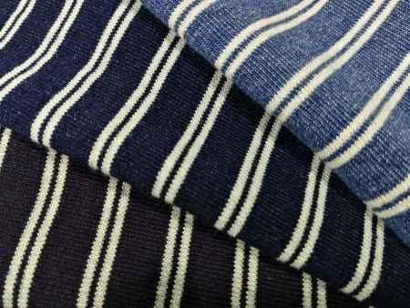 常州丛零针织牛仔—彩条汗布公司
