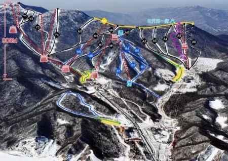 滑雪场景区规划及二次改扩建