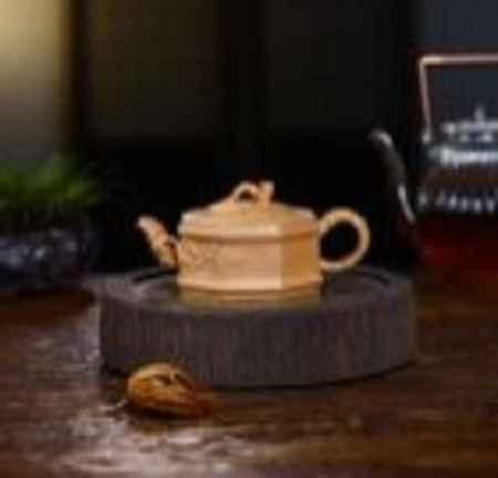 上海亿人茗器《竹节》紫砂壶