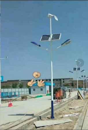济南太阳能风光互补路灯制造销售